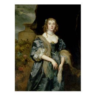 Cartão Postal Anne Carr, condessa de Bedford, c.1638