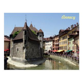 Cartão Postal Annecy histórico pitoresco bonito, France