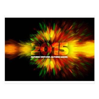 Cartão Postal Ano novo 2015