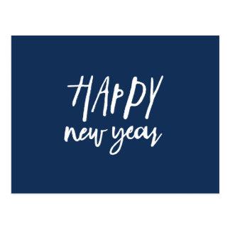 Cartão Postal Ano novo real