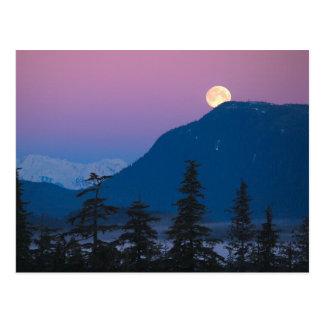 Cartão Postal Anoitecer em Alaska