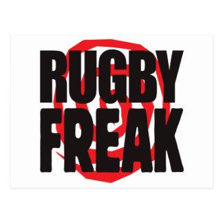 Cartão Postal Anormal do rugby