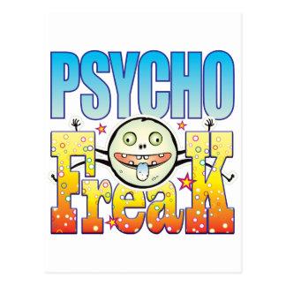 Cartão Postal Anormal Freaky psicótico