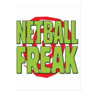 Cartão Postal Anormal G do Netball