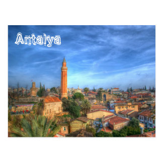 Cartão Postal Antalya