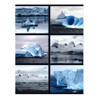 Cartão Postal Antartica surprising bonito