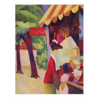 Cartão Postal Antes de Hutladen por Macke