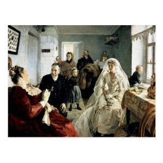 Cartão Postal Antes do casamento, 1880s