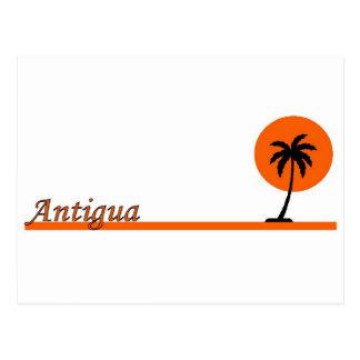 Cartão Postal Antígua