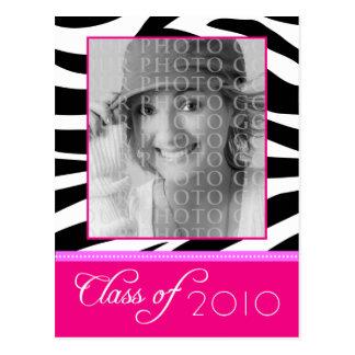 Cartão Postal Anúncio cor-de-rosa Funky FEITO SOB ENCOMENDA da