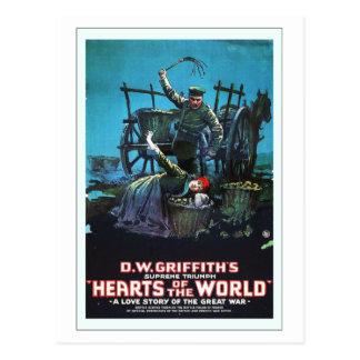 Cartão Postal Anúncio do filme do russo