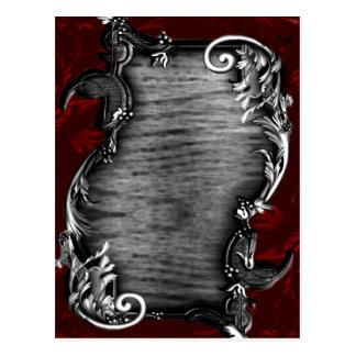Cartão Postal Anúncio gótico do vampiro de Proclimation