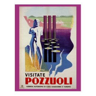 Cartão Postal Anúncio romano do viagem de Italia da cidade do