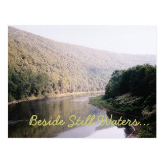 Cartão Postal Ao lado das águas imóveis