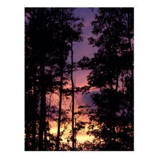 Cartão Postal Ao princípio de setembro crepúsculo II
