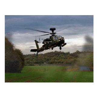 Cartão Postal Apache em The Field