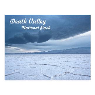 Cartão Postal Apartamentos de sal no Vale da Morte