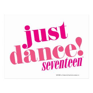 Cartão Postal Apenas dança - rosa