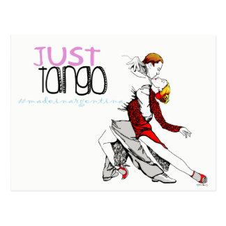 Cartão Postal Apenas tango feito em Argentina