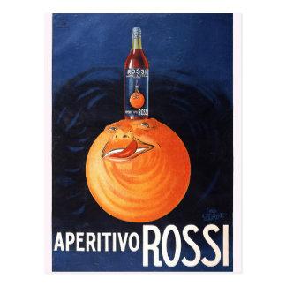Cartão Postal Aperitivo Rossi