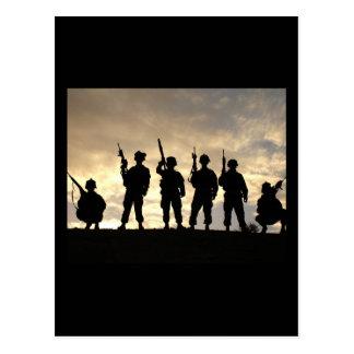 Cartão Postal APOIE nossas tropas