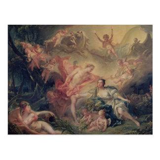 Cartão Postal Apollo que revela sua divindade