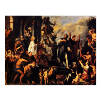 Cartão Postal Apóstolos de Jacob Jordaens-The, St Paul, St.
