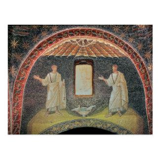 Cartão Postal Apóstolos, século V (mosaico)
