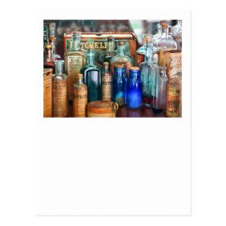 Cartão Postal Apothecary - remédios para os ajustados