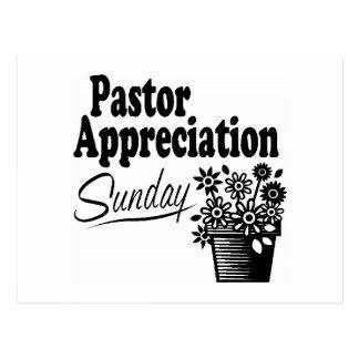 Cartão Postal apreciação do pastor