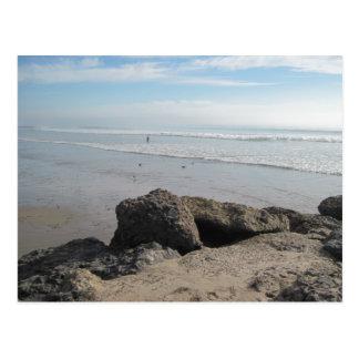 Cartão Postal Apreciando o surf em Ventura