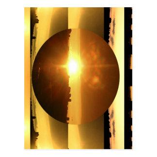 Cartão Postal Apresentação artística da LUA do SOL n