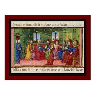 Cartão Postal Apresentação da Virgem Maria c1476