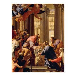 Cartão Postal Apresentação no templo