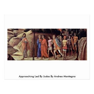 Cartão Postal Aproximação conduzida por Judas por Andrea