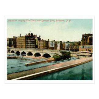 Cartão Postal Aqueduto, Rochester, vintage de NY