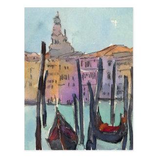 Cartão Postal Ar IV de Veneza Plein