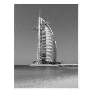 Cartão Postal Árabe do Al de B&W Burj
