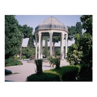 Cartão Postal Aragah e Hafez, túmulo de um poeta importante que