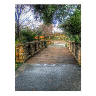 Cartão Postal Arboreto de Dallas e jardim botânico
