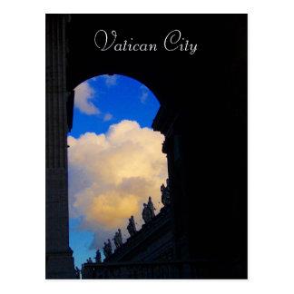 Cartão Postal arco da Cidade do Vaticano