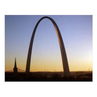 Cartão Postal Arco da entrada, St Louis, MO