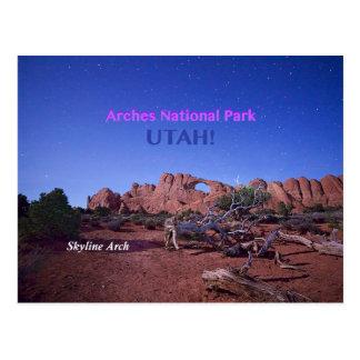 Cartão Postal Arco da skyline