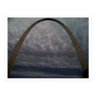 Cartão Postal Arco de St Louis