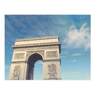 Cartão Postal Arco de Triunfo