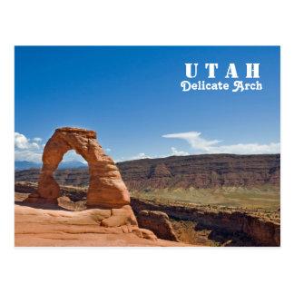 Cartão Postal Arco delicado de Utá