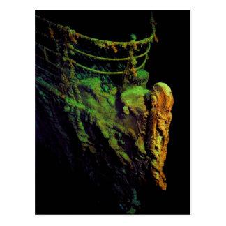 Cartão Postal Arco do titânico como visto do RIM me submarino