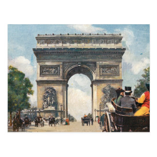 Cartão Postal Arco do Triunfo