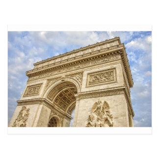 Cartão Postal Arco do Triunfo em Paris