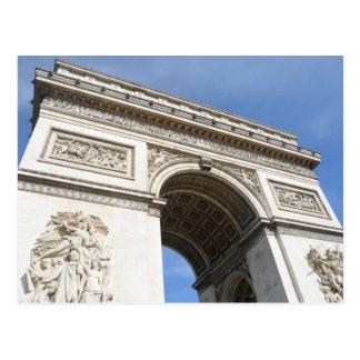 Cartão Postal Arco do Triunfo Paris